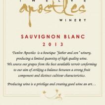 Sauvignon Blanc 2013