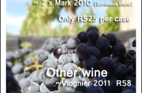 July 2012 Wines available